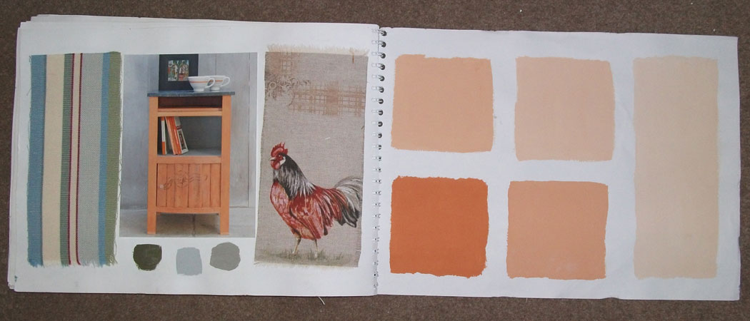 Annie Sloan Barcelona Orange inspiration