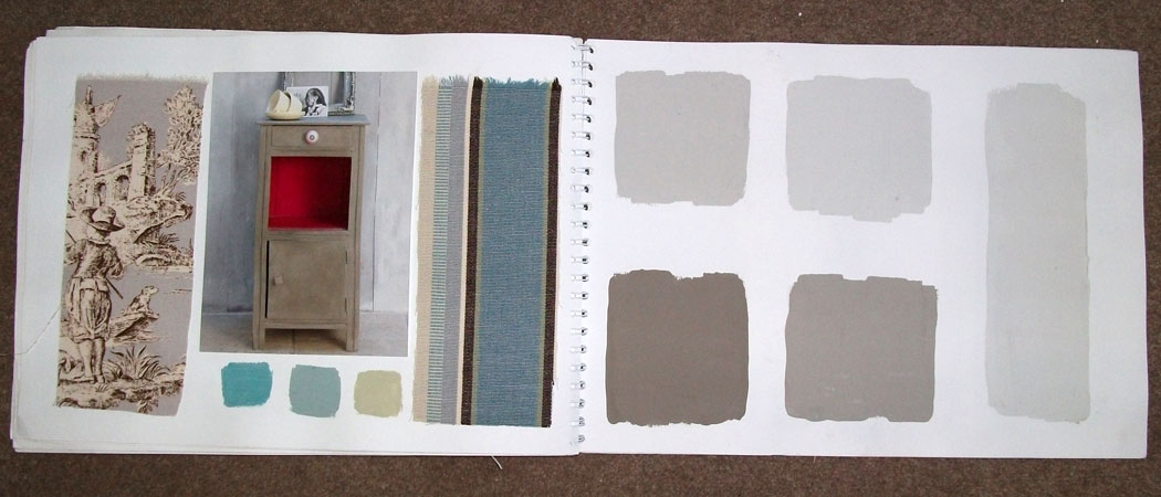 Annie Sloan Paint Coco inspiration