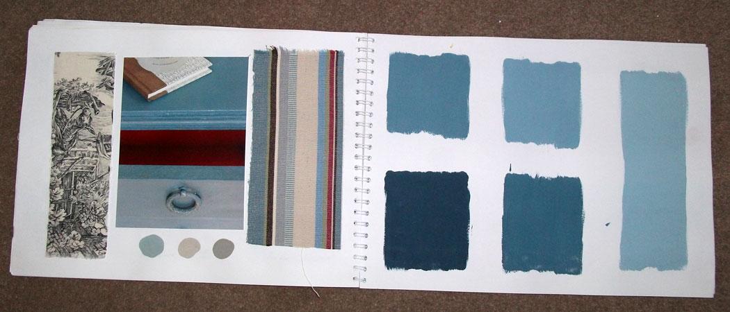 Chalk Paint Aubusson Blue inspiration