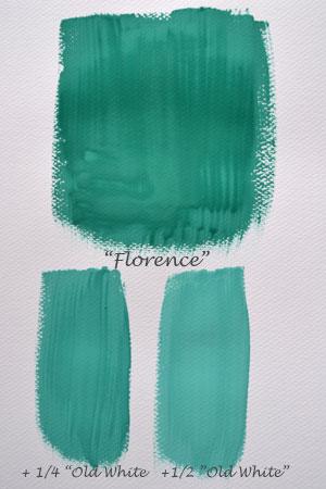 Florence blandad med Old White