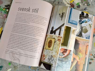 Annie Sloan bok på svenska