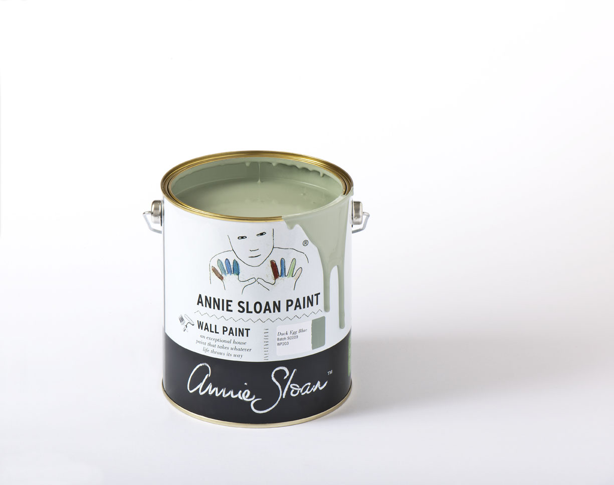 Duck Egg Blue Annie Sloan väggfärg Wall Paint