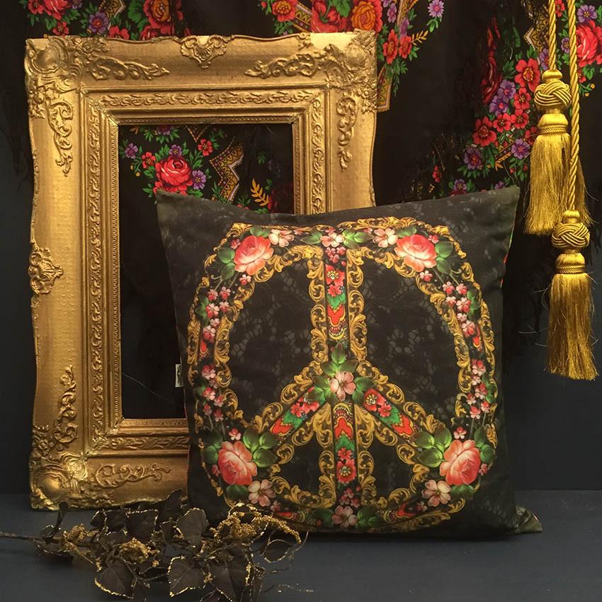 Make Peace Not War kuddfodral