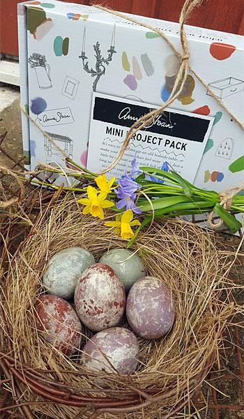 Annie Sloan Mini Projekt Paket som påskägg