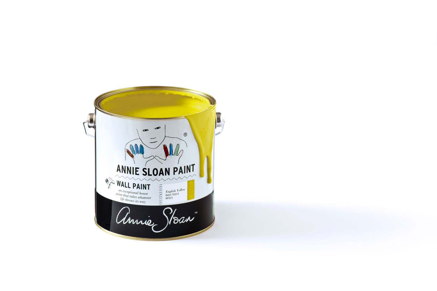 English Yellow Annie Sloan Wall Paint