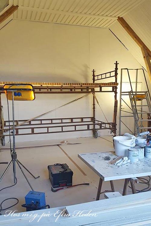 Måla väggar med betonglook med Annie Sloan Chalk Paint och Wall Paint