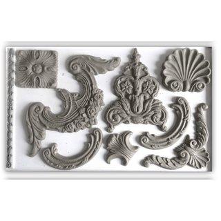 IOD Dekorformar skapar ornament till dina möbler och inredningsdetaljer