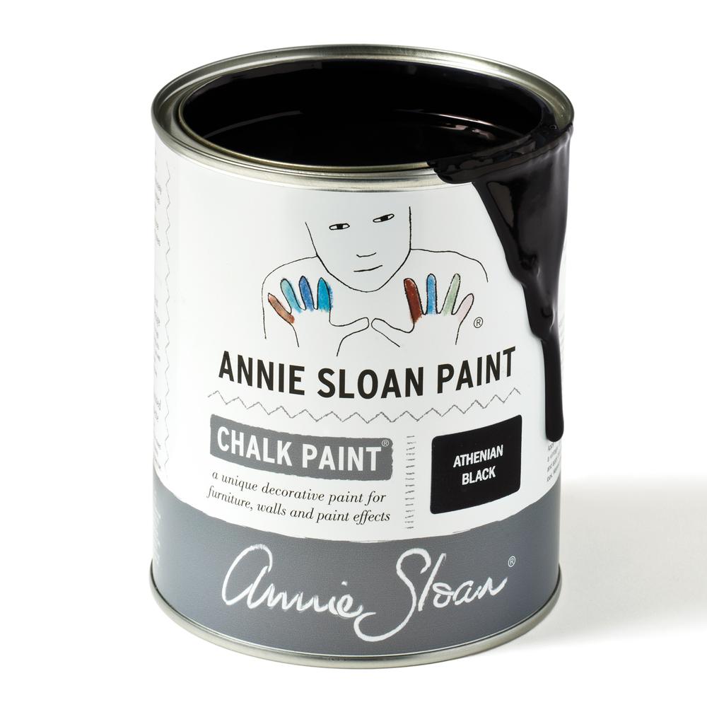 Athenian Black NY svart kulör från Annie Sloan