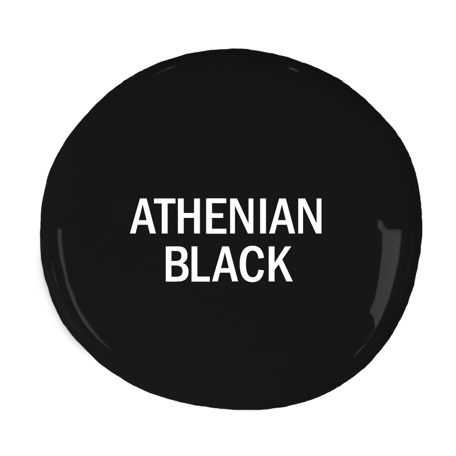 NY svart kulör Athenian Black Chalk Paint