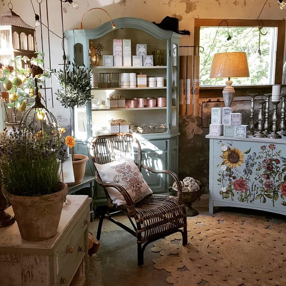 Sommarkurs. Måla & förvandla möbler med Chalk Paint och IOD Dekorer