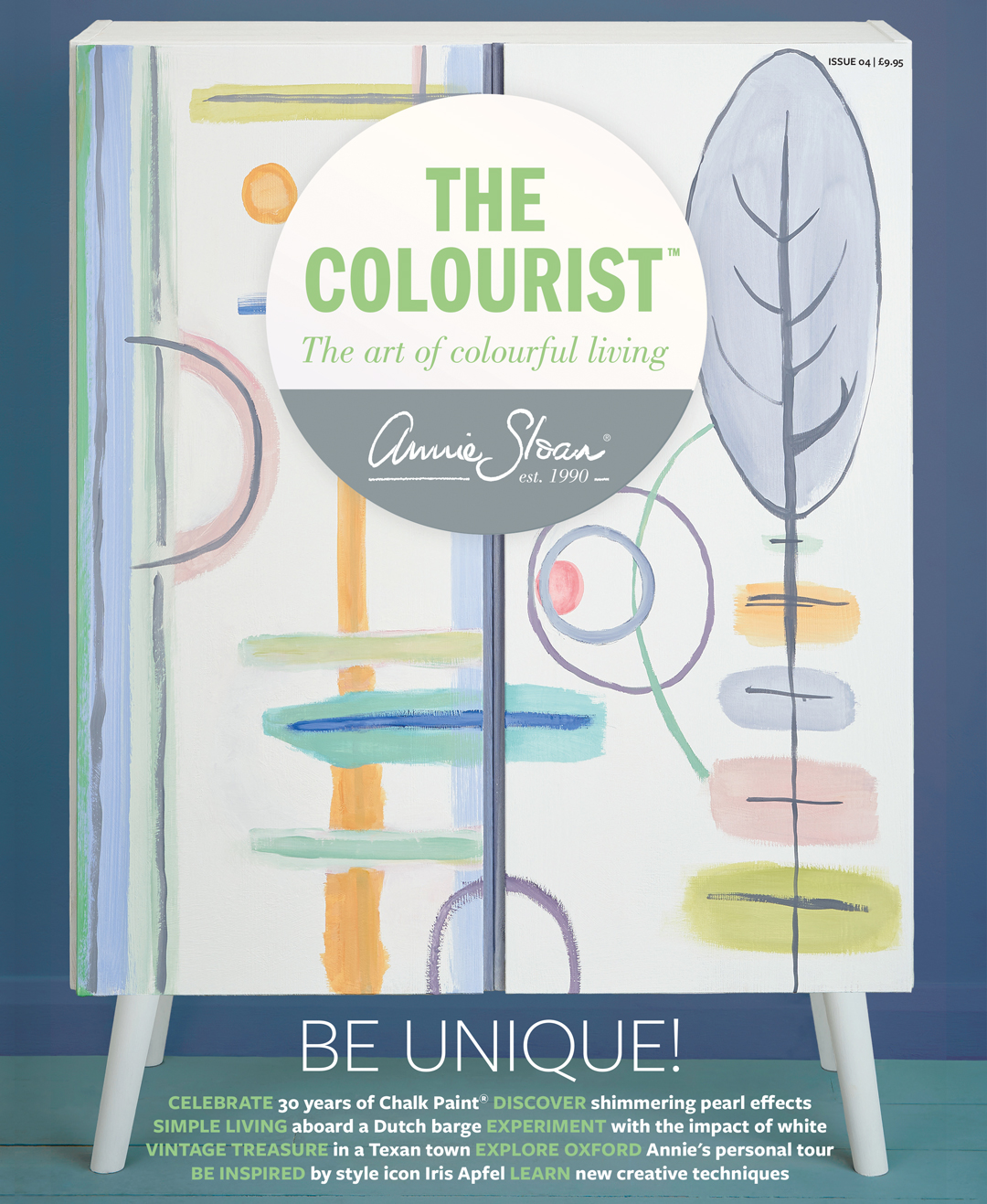 The Colourist Issue 4 front cover