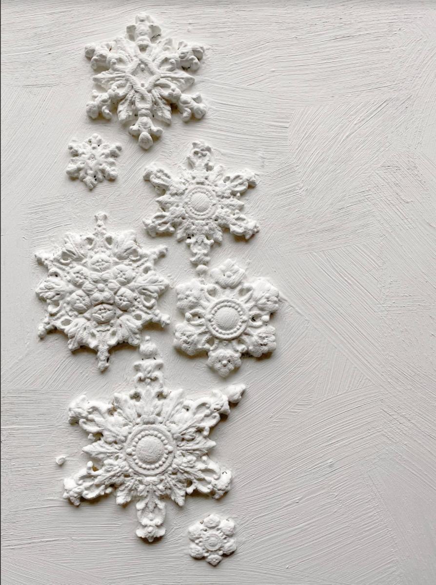 IOD Dekorform Snowflakes