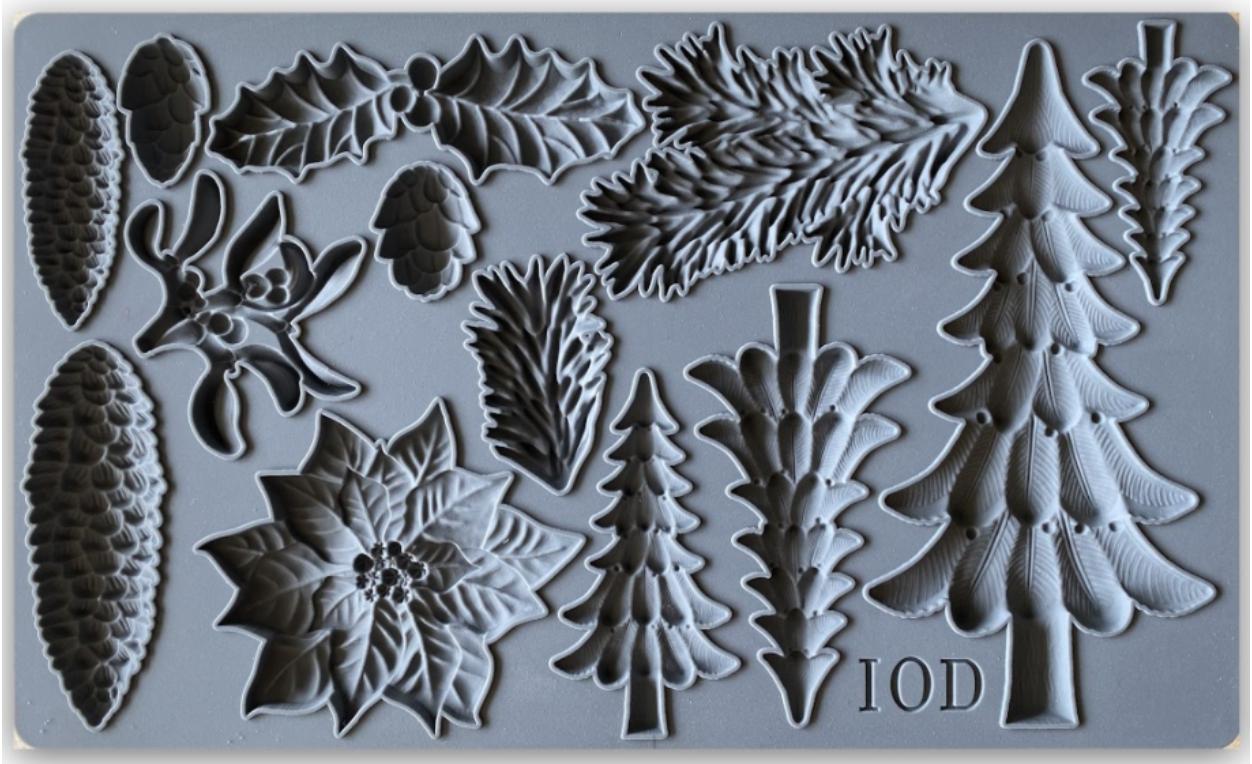 IOD Dekorform Boughs of Holly i Monicas Butik