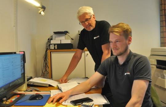 Göran Ågren kommer från Otto Magnusson AB och har varit med sedan Carl-Fredrik startade JS Bygg 2014.