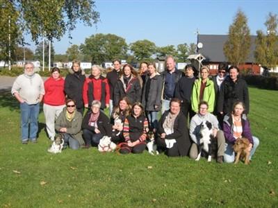 Helena Frölin, Birgitta Gustafsson, Camilla Henningsson, Jenny Jonesjö från hundgruppen har deltagit i utbildningen om rädsla & aggression hos hund med Lars Fält.