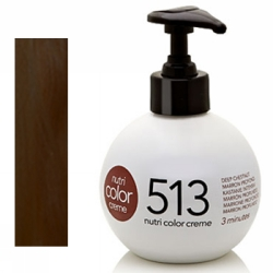 Revlon Nutri Color Creme 513 Deep Chestnut, 250 ml