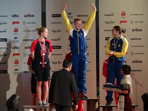 Svenskt guld och brons på 200m fritt