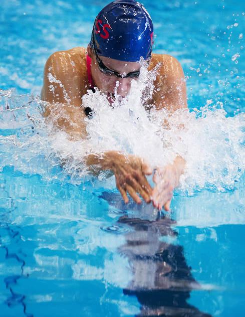 Joline Höstman simmar sitt sista SM i simning - det berättade hon i ett Instgram häromdagen. Idag simmade hon final på 100m bröstsim.
