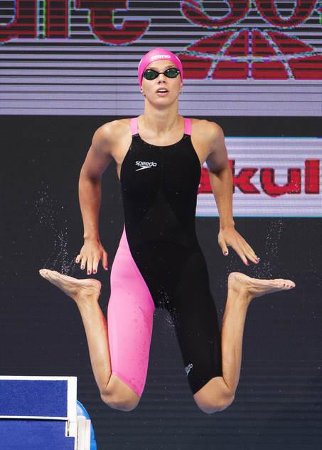Yulia Efimova gjorde comeback efter dopningavstängning.......
