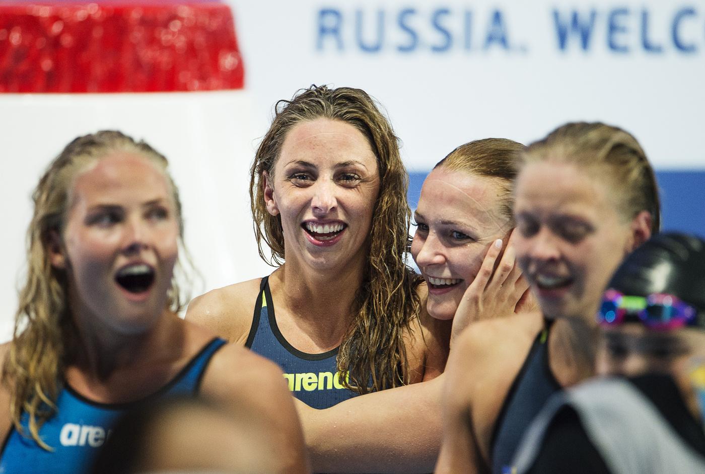Sveriges damer vidare i lagkappen