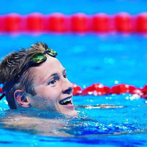 Erik Persson simmade tiill sig den första finalen under VM - för Sverige