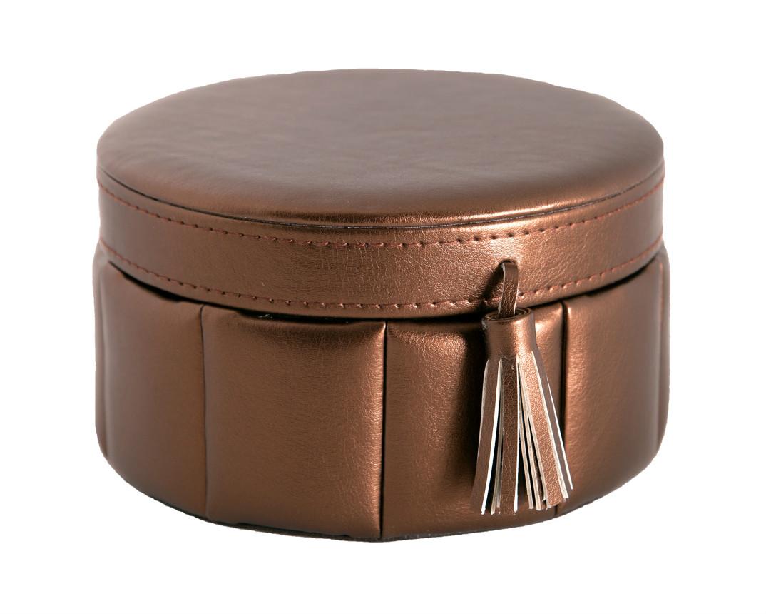 Jewelry box round