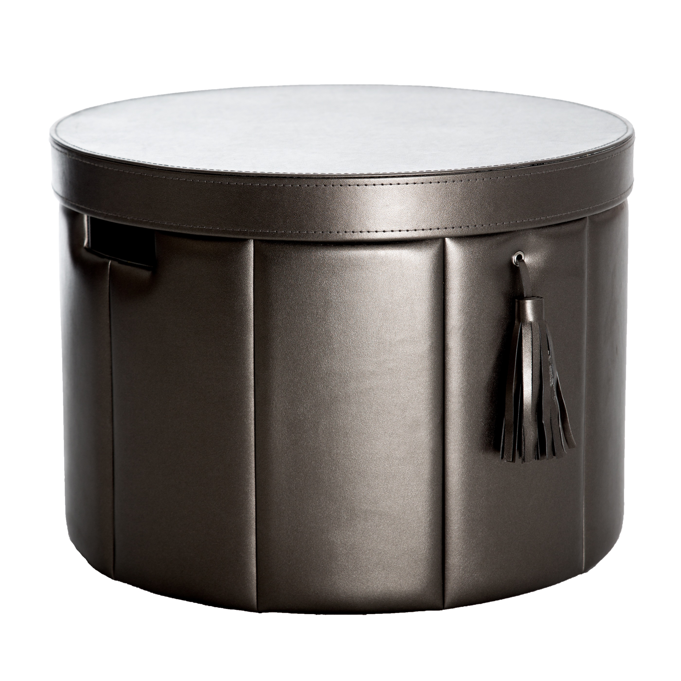Hat Box Metallic