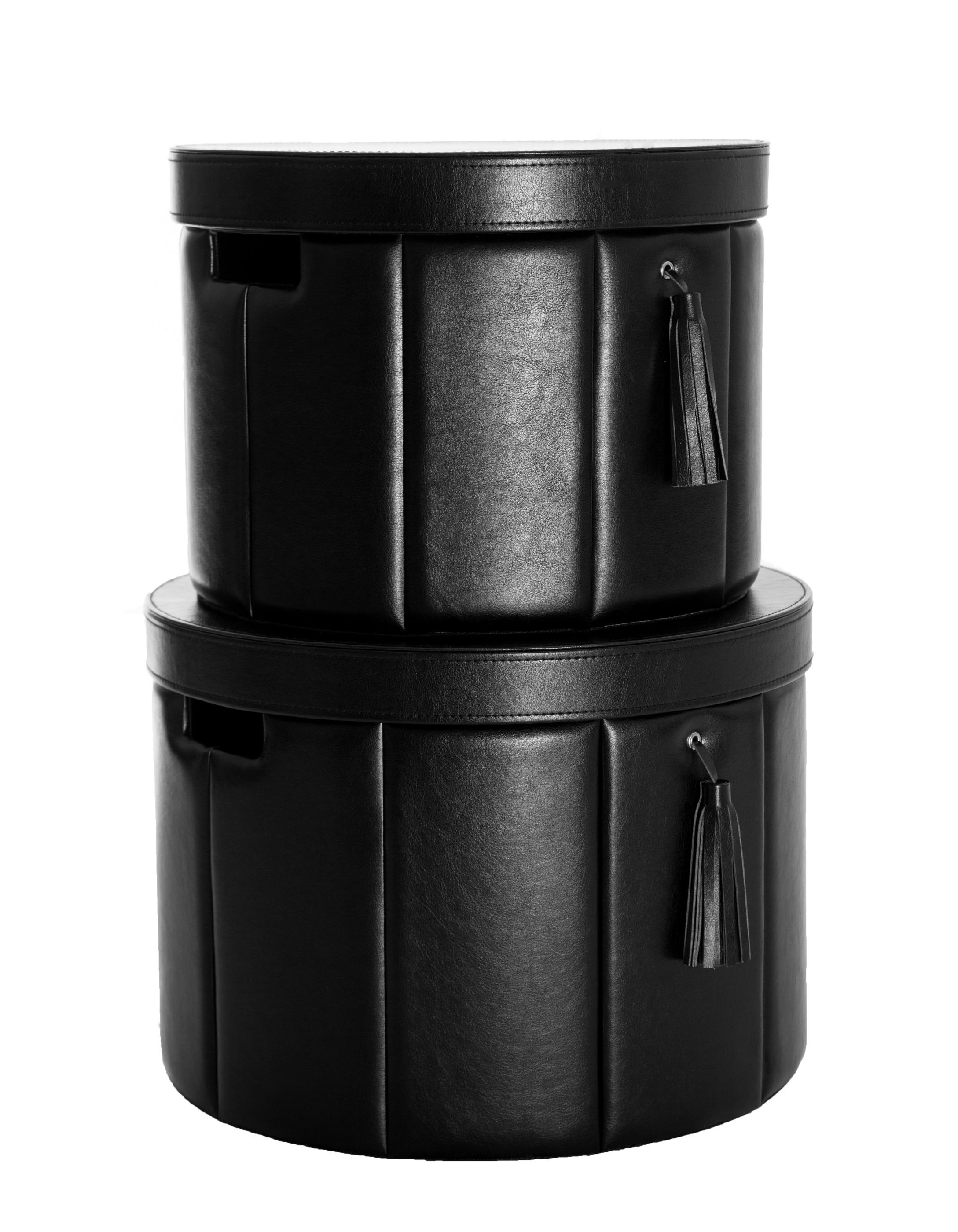 Hat Box Black 2