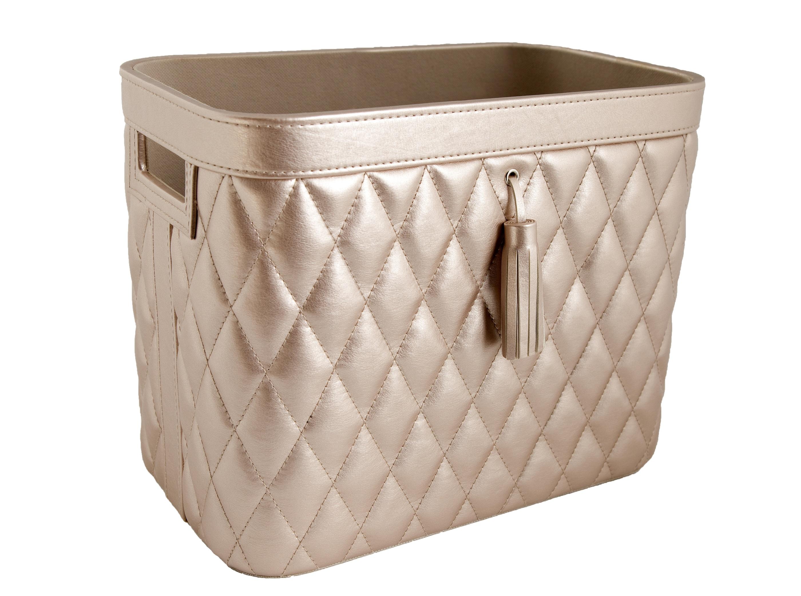 Storage Basket Champagne