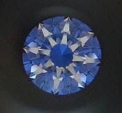 """""""Arrows"""" i en diamant med goda proportioner och symetri."""