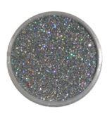Glitter - Silver Hologram
