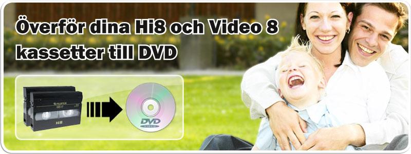 Överföra VHS till DVD hos Familjefilm.nu
