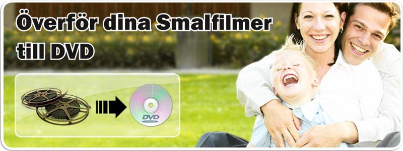 Smailfilm super 8 till DVD hos Familjefilm.se