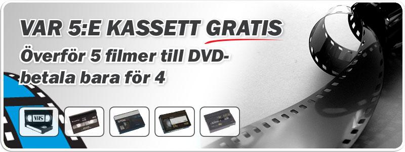 Överför vhs hi8 och vhs-c till DVD. Diabilder negativ och fotografier till CD