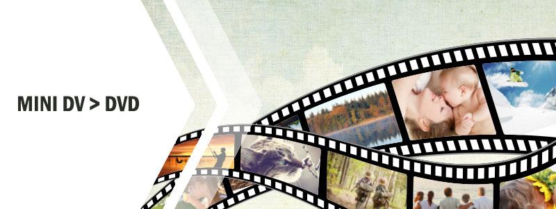 Överföra Mini DV till DVD hos Familjefilm.se