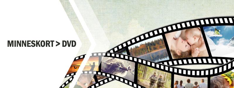 Överföra minneskort till DVD hos Familjefilm.se