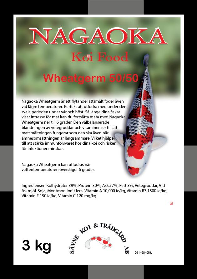 Nagaoka Wheatgerm 50/50