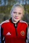 Sanna Bergström Älmqvist öppna-de målskyttet och gjorde en bra match.