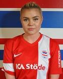Frida Åsell inledde målskyttet för Stöde.