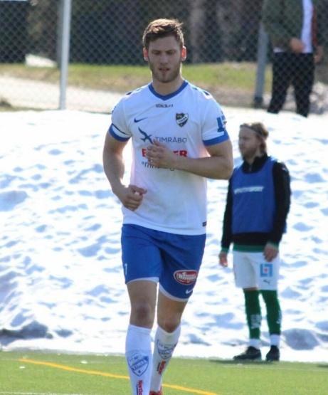 Oskar Nordlund har nu vunnit skytteligan i division 5 2015. division 4 2017 och division 2 2018 med Ljunga IF, Ljunga/Fränsta respektive IFK Timrå. Foto: Fredrik Thimerad.