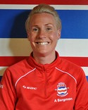 Anette Bergnan, tränare.