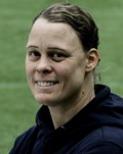 37-åriga veteranen Gunilla Lööv gav SDFF 2 hopp när hon reducerade till 1-2.