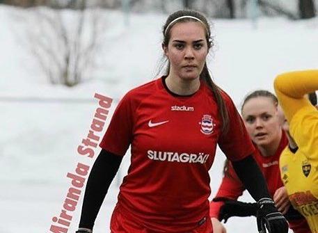 Miranda Strand är tillbaka i Stöde IF efter en sejour i Fränsta IK. Foto: Stöde IF.