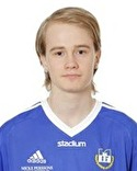 Alex Berggren var en av Matfors 2:s fyra målgörare mot Kuben 2.