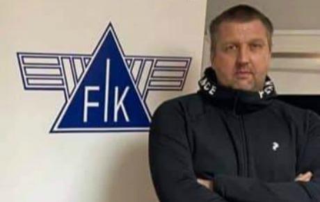 Den gamle storbacken Peter Larsson är tillbaka som tränare för fränstas herrar. Foto; Fränsta IK.