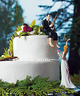 Cake top - Lockar med ringen