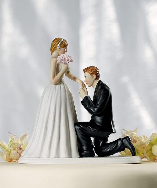 Caketopper vill du gifta dig med mig