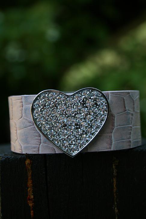Rosa hjärta