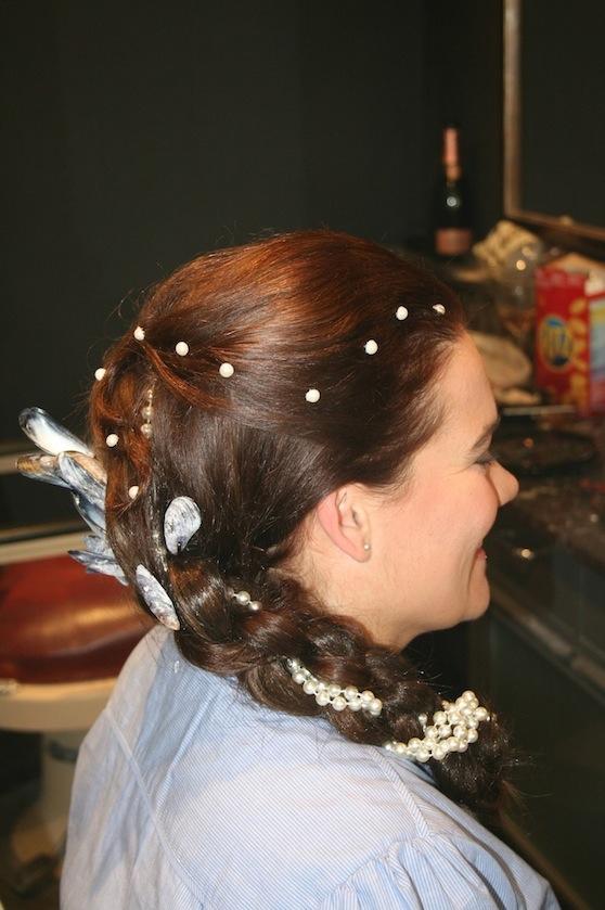 Hårpärlor Tinas frisyr liten