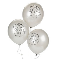 Ballong - Just married silver